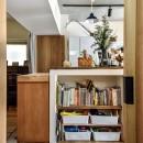 市ヶ谷 K邸 マンションリノベーションの写真 キッチン
