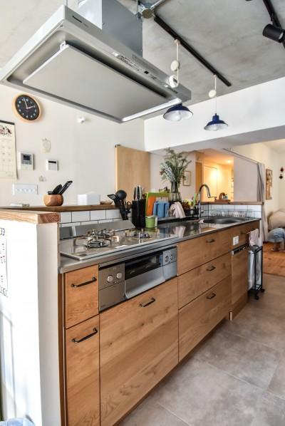 キッチン (市ヶ谷 K邸 マンションリノベーション)