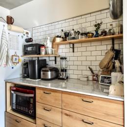 市ヶ谷 K邸 マンションリノベーション (キッチン)