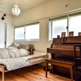 市ヶ谷 K邸 マンションリノベーション (ベッドルーム)