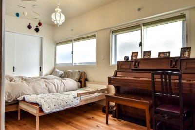 ベッドルーム (市ヶ谷 K邸 マンションリノベーション)