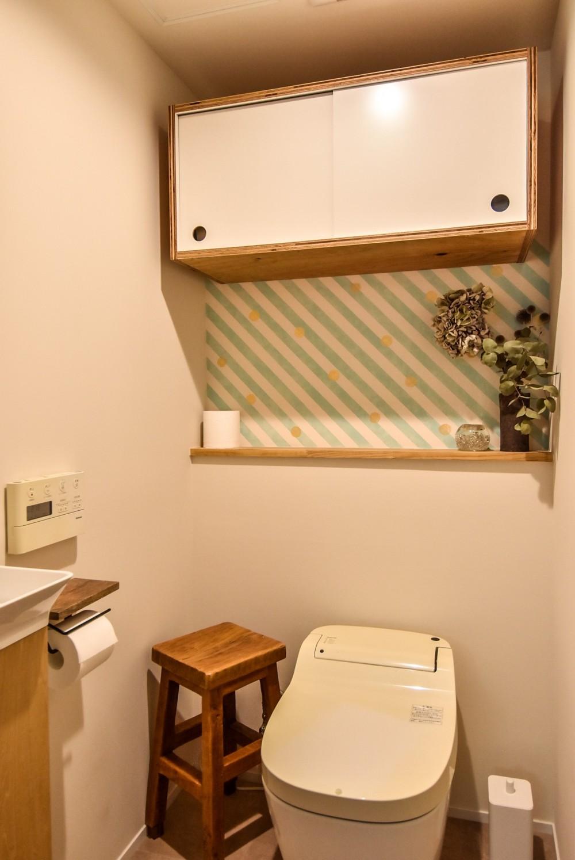 市ヶ谷 K邸 マンションリノベーション (トイレ)