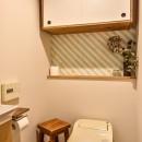 市ヶ谷 K邸 マンションリノベーションの写真 トイレ
