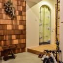 市ヶ谷 K邸 マンションリノベーションの写真 玄関