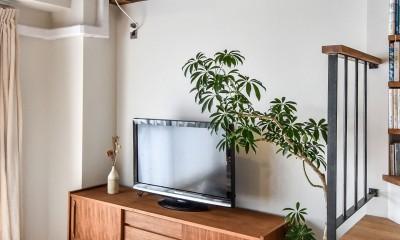 品川シーサイドH邸マンションリノベーション (リビング)