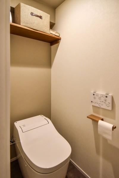トイレ (品川シーサイドH邸マンションリノベーション)