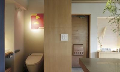 千葉県船橋市『私たちの家』 (おもてなしのトイレ)