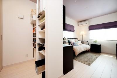 暮らしにあわせて間取りから一新。築51年の家を新築同様の住み心地に (【洋室】)