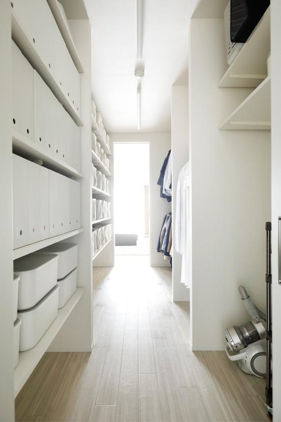 インテリックス空間設計「これまでの住まいの、お気に入りポイントはいかして不満点を解消した新しい住まい。」