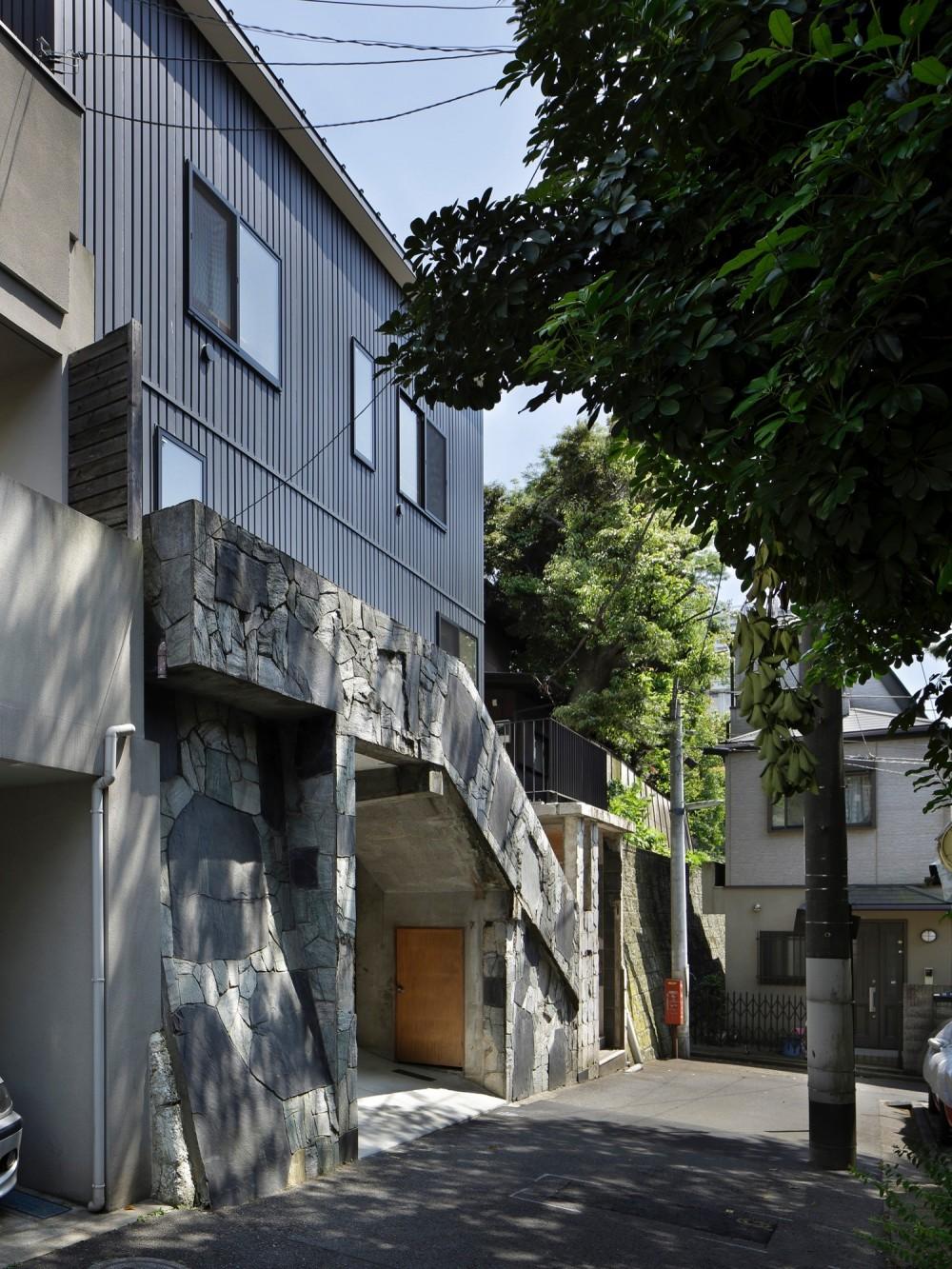東五反田の住宅/ 空き家木造住宅のリノベーション (外観)