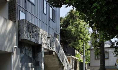 外観|東五反田の住宅/ 空き家木造住宅のリノベーション