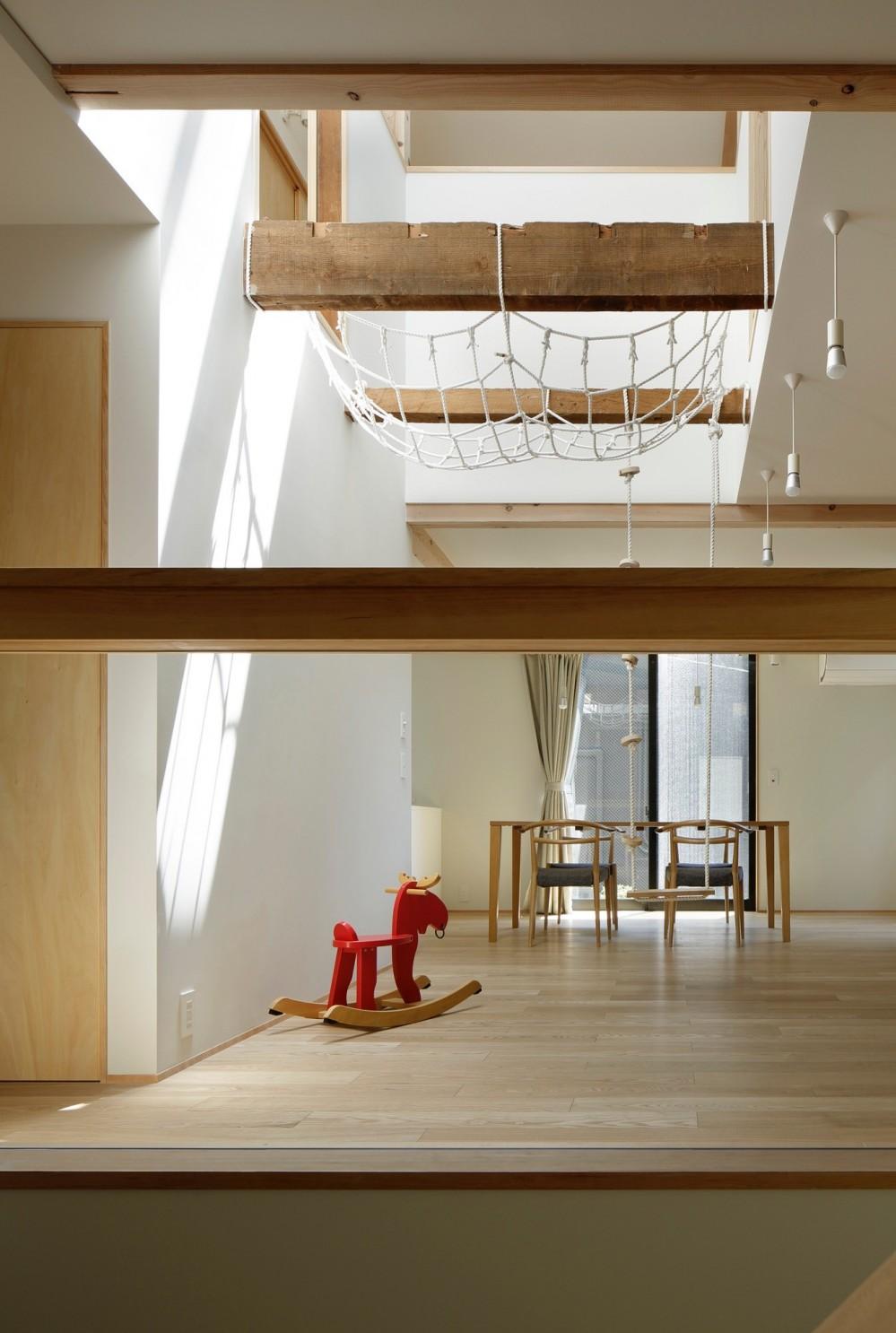 東五反田の住宅/ 空き家木造住宅のリノベーション (LD)