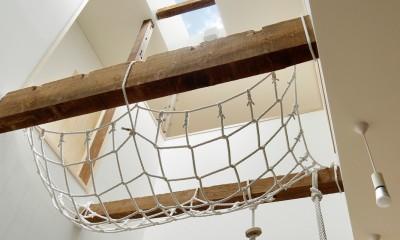 東五反田の住宅/ 空き家木造住宅のリノベーション (トップライト)