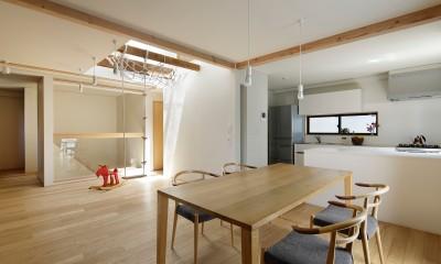 東五反田の住宅/ 空き家木造住宅のリノベーション (LDK)
