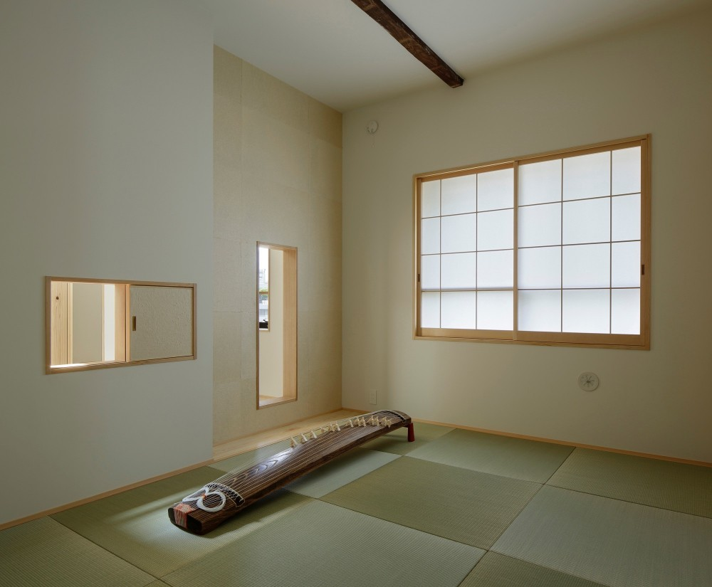 東五反田の住宅/ 空き家木造住宅のリノベーション (和室)