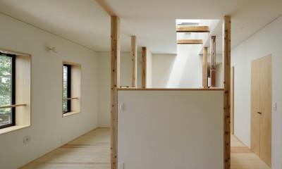 東五反田の住宅/ 空き家木造住宅のリノベーション (子供部屋)