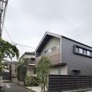 桜上水の住宅 / 半地下と屋上の効果の写真 外観