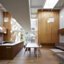高尾の家  / 2つのテラスと大きなガラスドアで緩やかに自然を取り込む家の写真 LDK