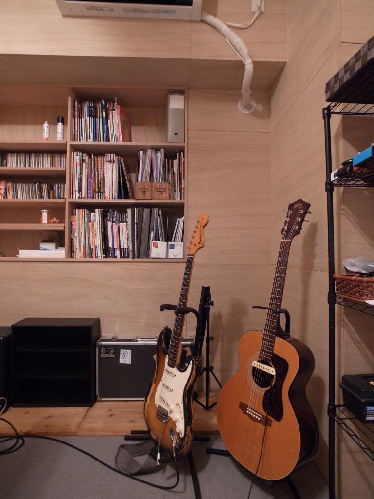 その他事例:ベーシックギターレッスン(ベーシックギターレッスン マンション防音改修)