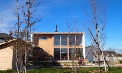 土間リビングの家|A house (外観)