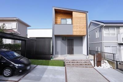 三重県桑名市 M様邸 (facade)