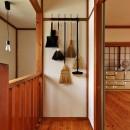 川崎市H様邸 ~レトロに家を育む~の写真 階段・2F