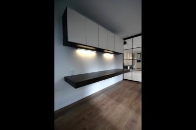 居室 (窓からの明るい光がLDKに差し込む綺麗めな空間に)