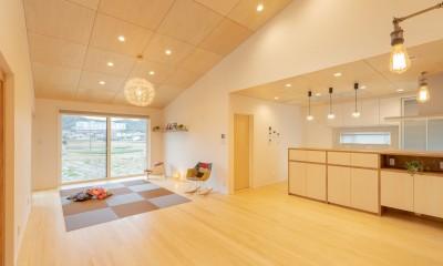 冬もぽかぽか平屋の家 (LDK)