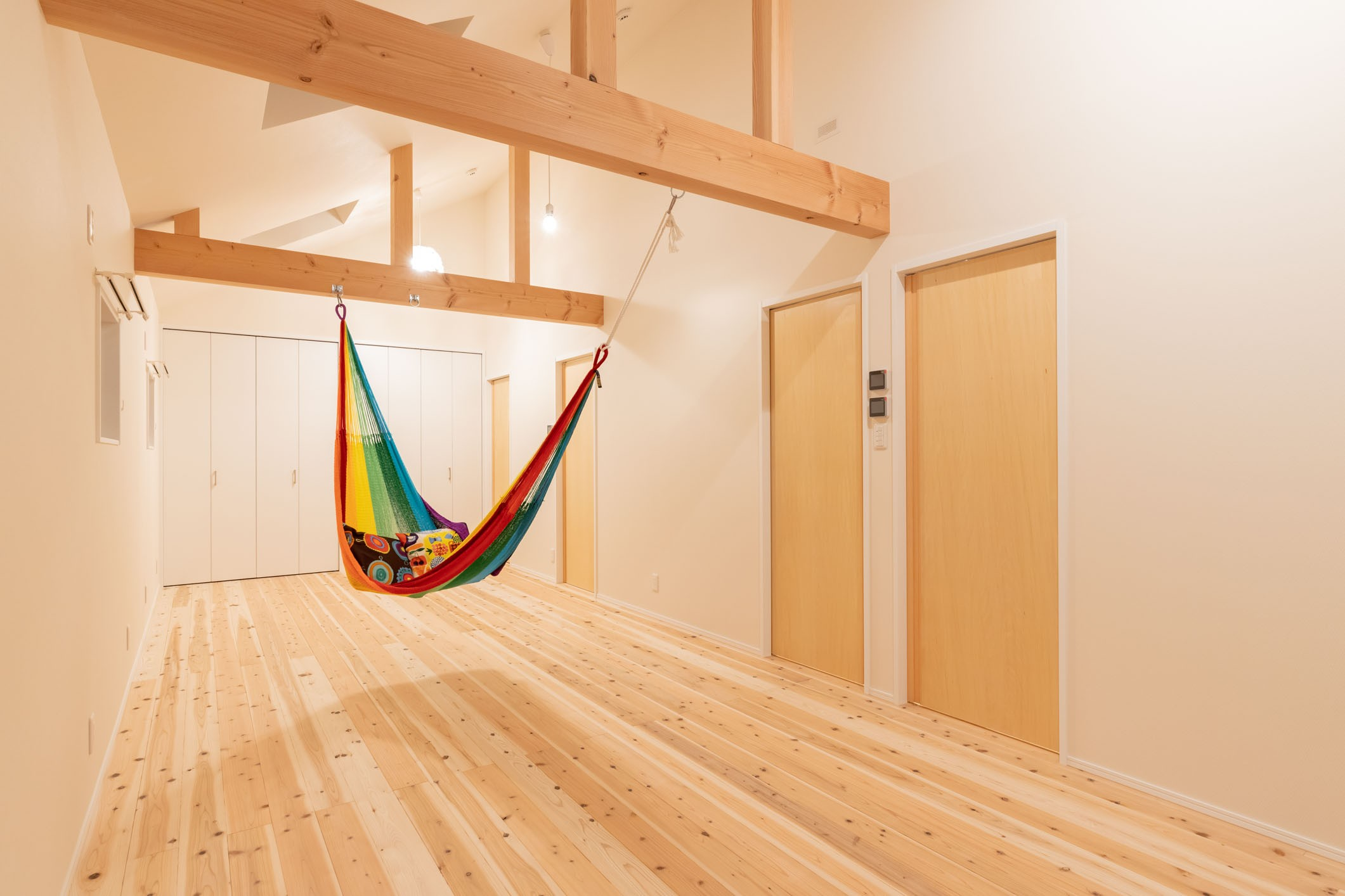 子供部屋事例:子供部屋(冬もぽかぽか平屋の家)