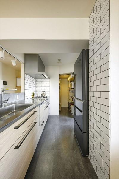 キッチン (M邸_好きで彩る)