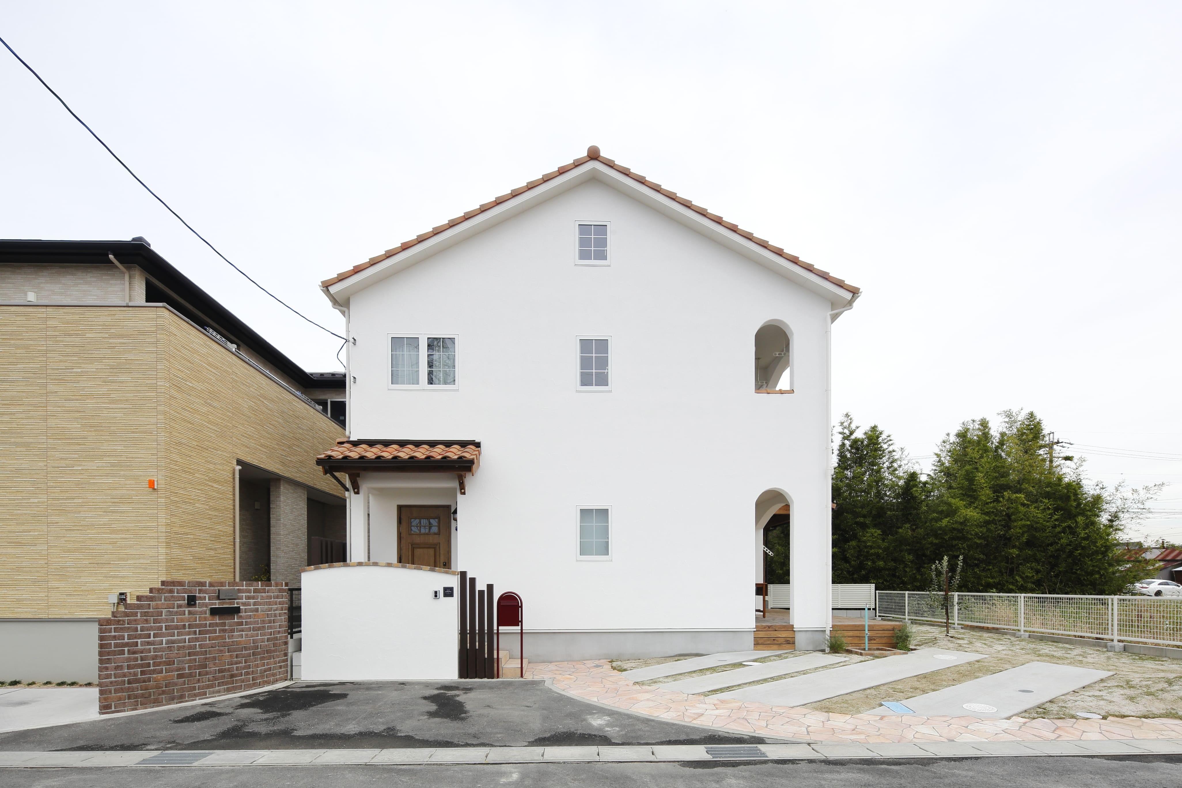 外観事例:facade(愛知県あま市 N様邸)