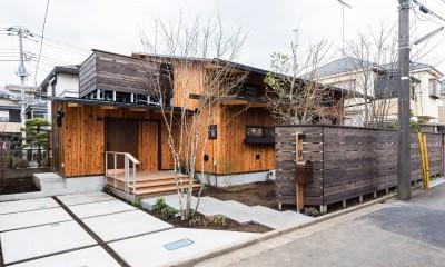 みはらしだいの家|三鷹市(半平屋の暮らし)
