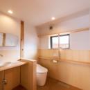 みはらしだいの家|三鷹市(半平屋の暮らし)の写真 トイレ
