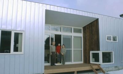 3断面の家 - 寒冷地のコンパクト住居
