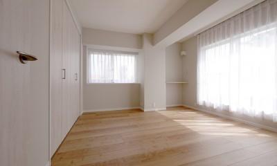 収納充実のナチュラル空間 (洋室1)