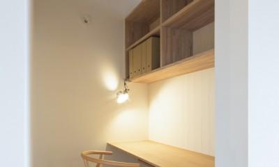 守山の家 (書斎)
