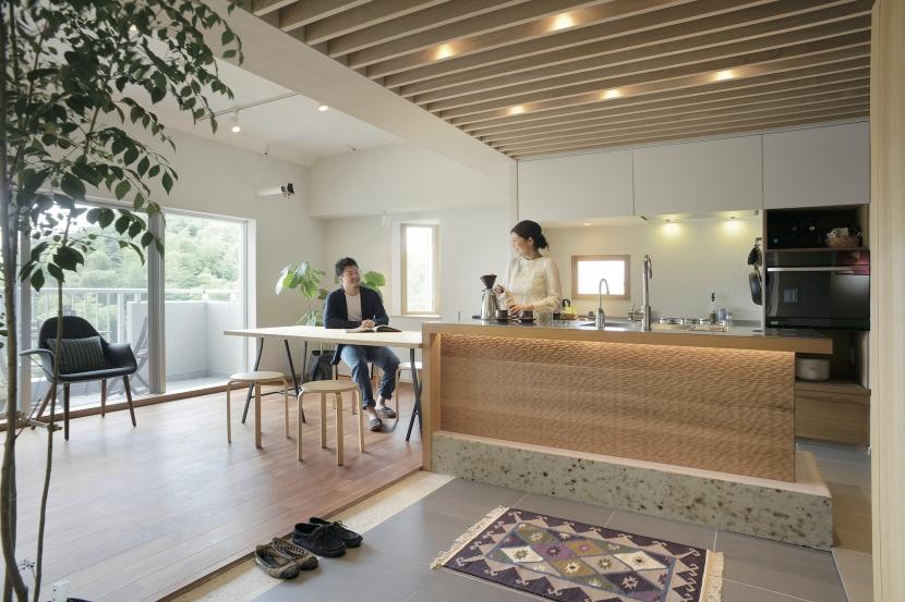居心地のいいキッチン (千葉県船橋市『私たちの家』)
