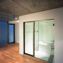 【フラッツS - 101】 都心の山岳都市住宅の写真 バスルーム