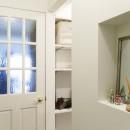 I邸-コンパクトな間取りでも収納はたっぷり。私らしい一人暮らしの住まいの写真 玄関