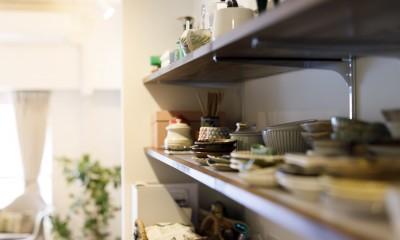 I邸-コンパクトな間取りでも収納はたっぷり。私らしい一人暮らしの住まい (収納)