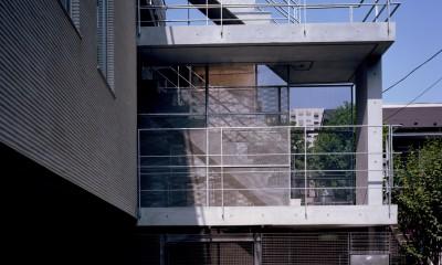 【フラッツS <親の家>】 都心の山岳都市住宅