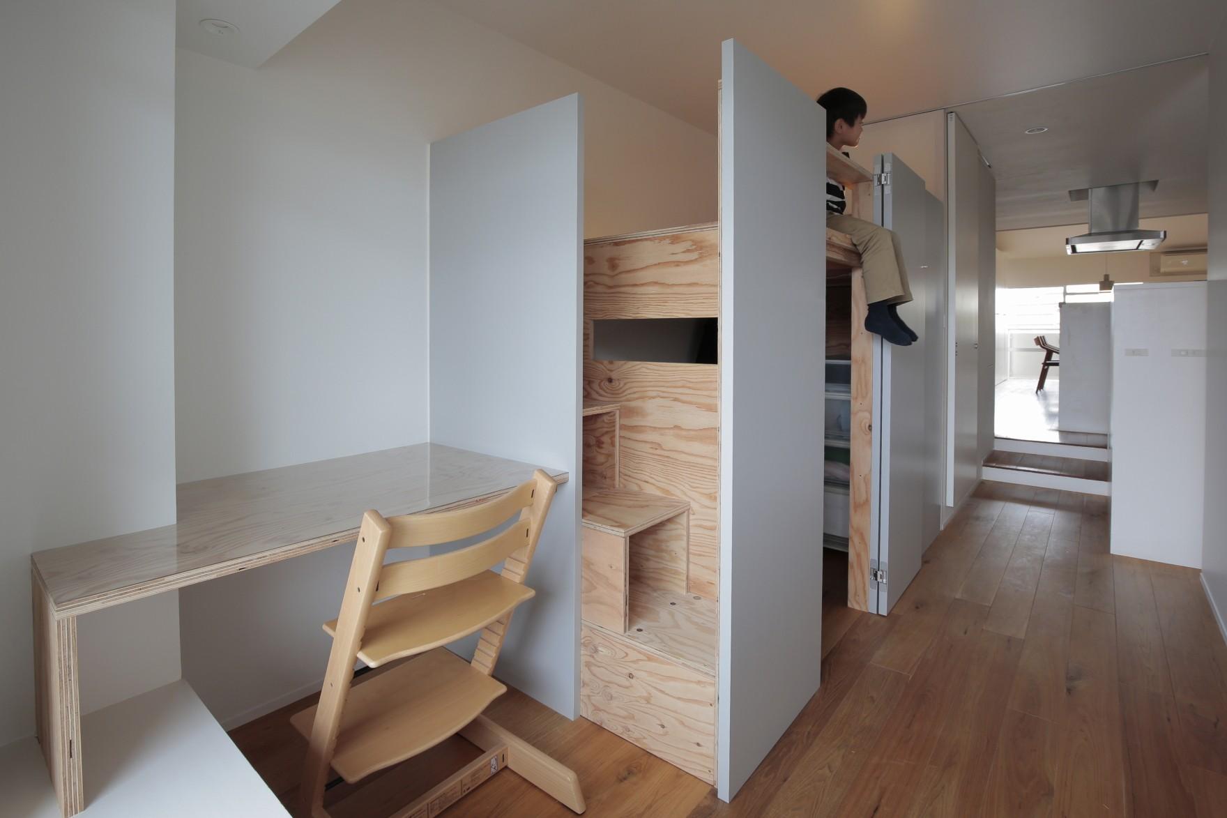 子供部屋事例:こども部屋(都島のマンションリフォーム)