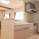 気持ちゆったり広々リビング空間の写真 キッチン