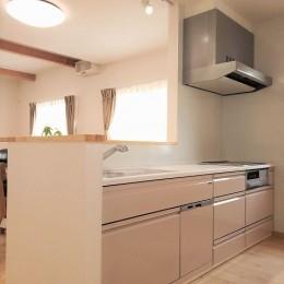 気持ちゆったり広々リビング空間 (キッチン)