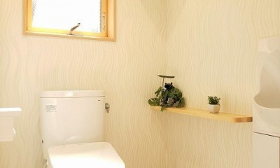 気持ちゆったり広々リビング空間 (トイレ)