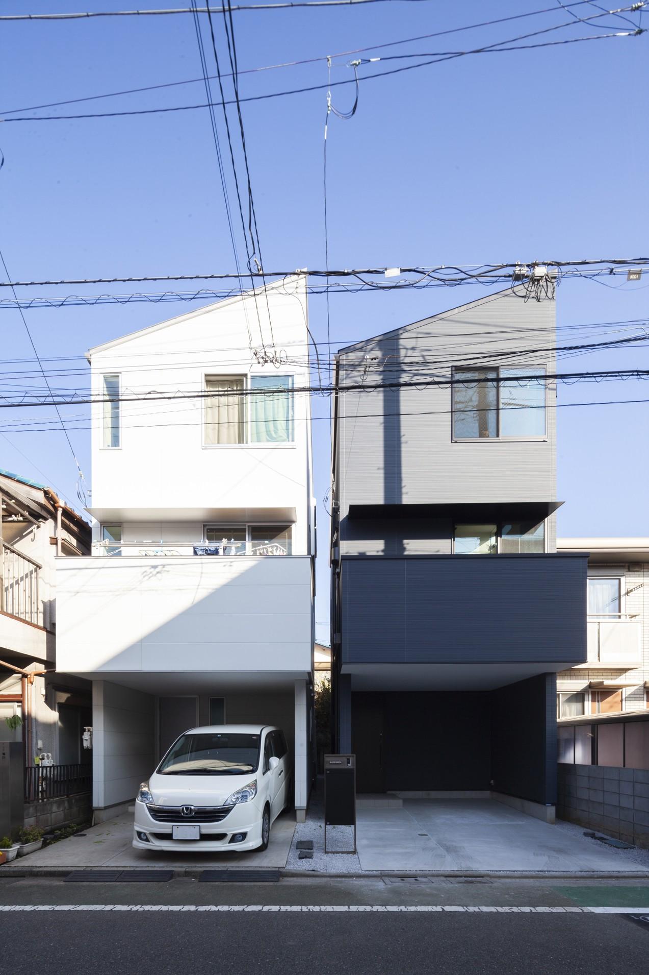 外観事例:外観(高島平の家2)