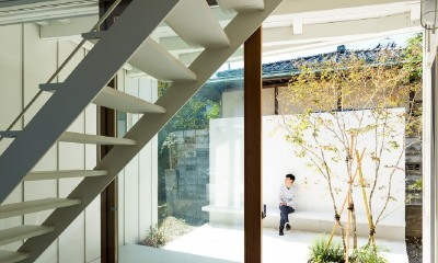 su house (土間・中庭)
