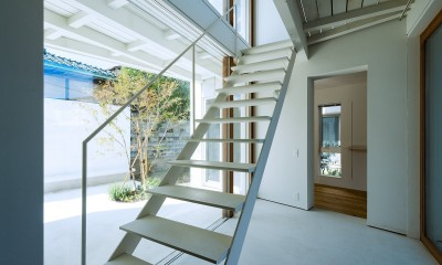 su house (土間・階段)