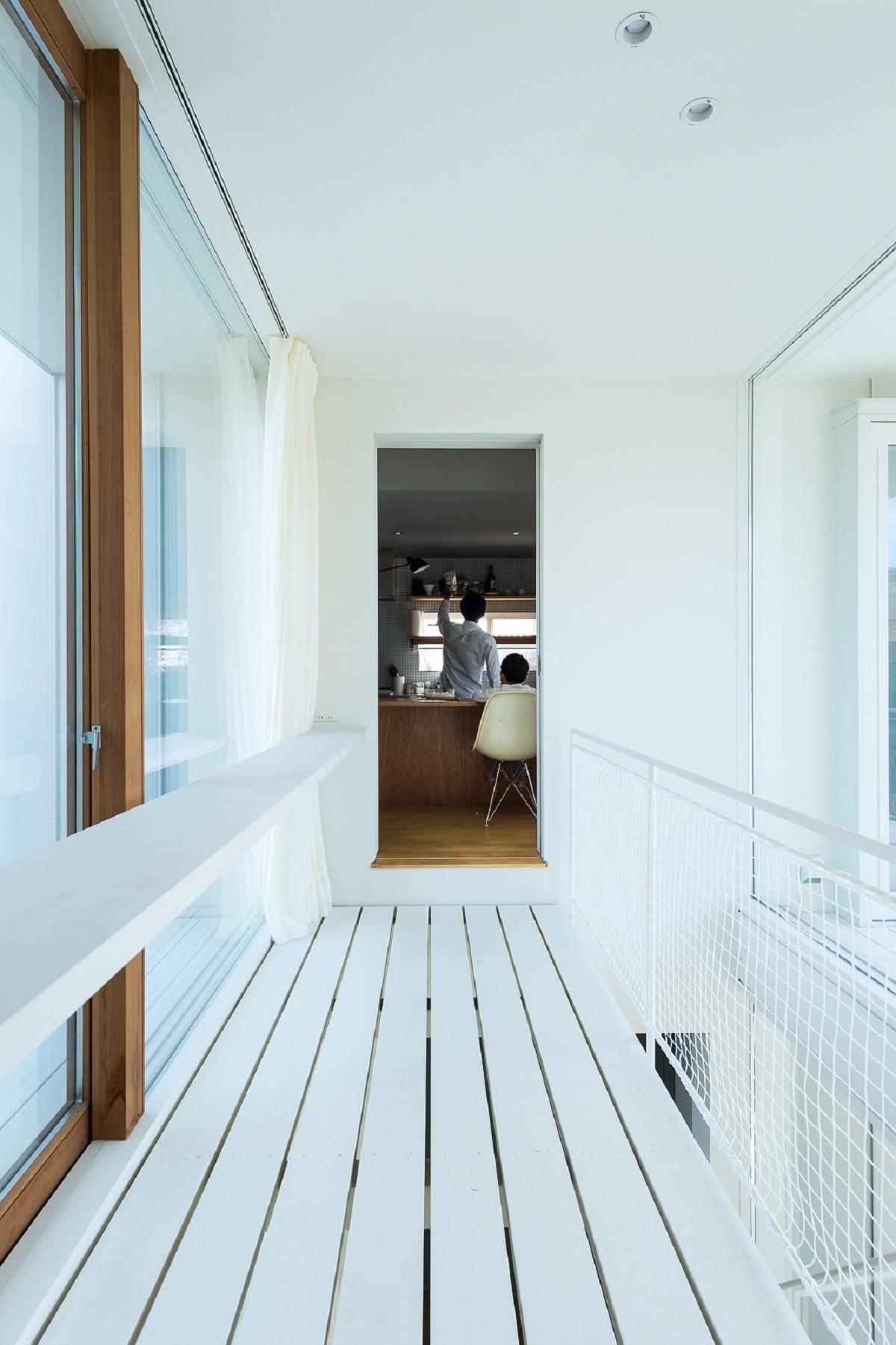 キッチン事例:キッチン・廊下(su house)