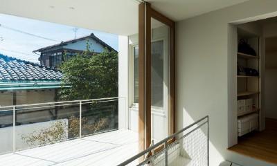 su house (廊下・テラス)